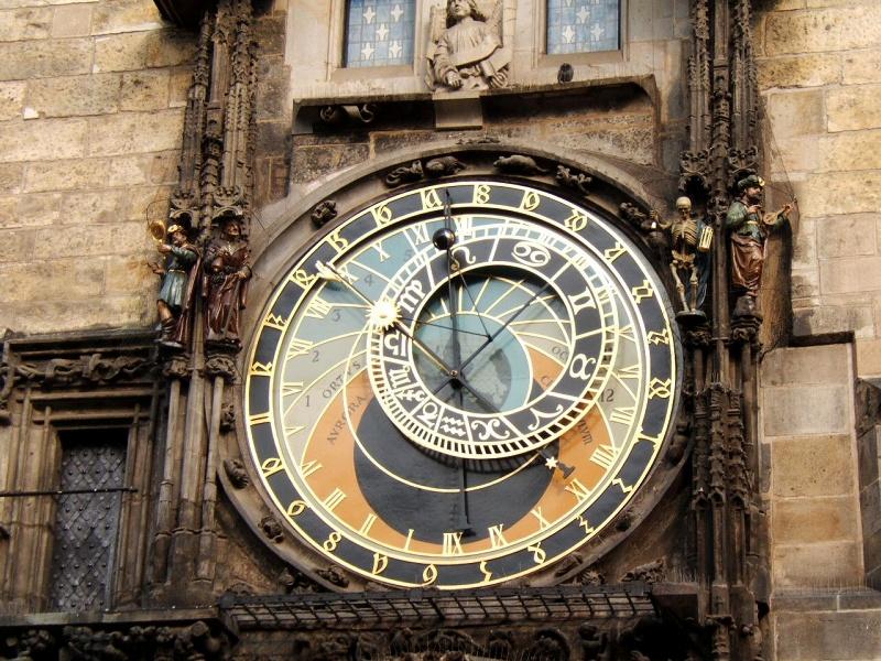 Astronomický ciferník pražského orloje