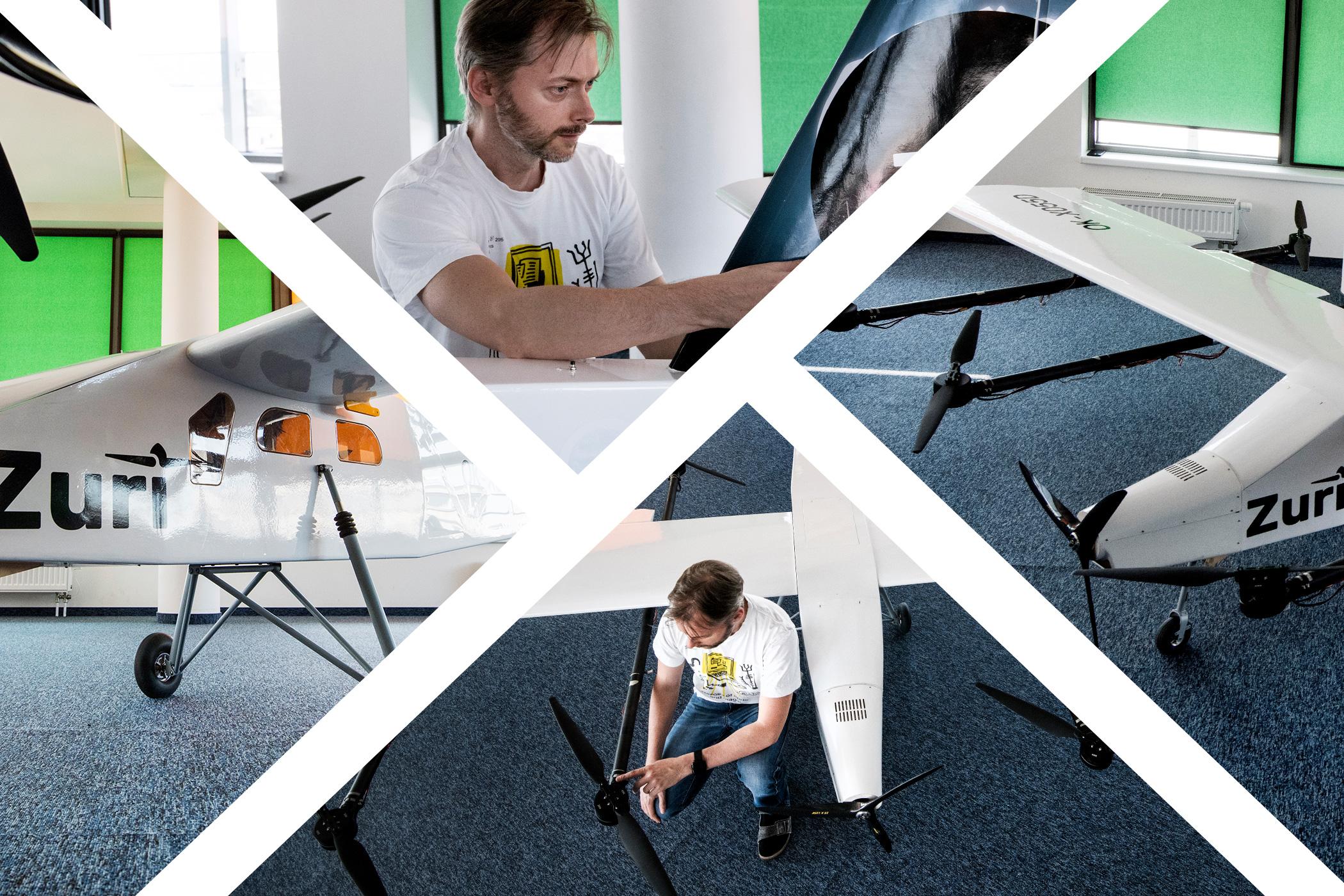 Michal Illich stojí za konceptem autonomního letadla s kolmým startem Zuri. Nahradí létání v budoucnosti jízdu autem?
